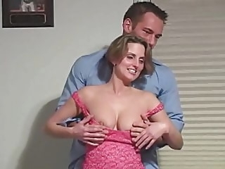 JOHNNY CASTLE HOMEMADE THREESOME blonde hd videos cum in mouth video