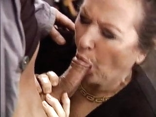 My favourite aunt. blonde blowjob granny video