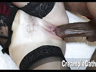 MILF Takes Massive BBC amateur top rated creampie video