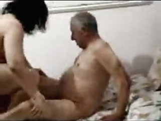 Egyptian Old And Young brunette old & young arab video