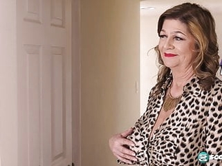 Brenda Douglas First On-Camera Hardcore With BBC XXX mature milf granny video