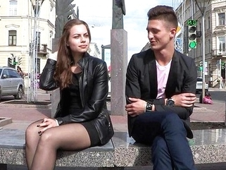 The young girl succumbed to the entreaties of the Russian wingman and ... amateur russian straight video