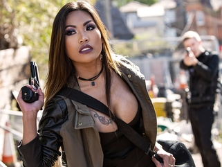 Polly Pons & Danny D in Banged Behind Bars - BRAZZERS asian big tits fetish video