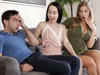 The couple came to the casting and have sex with Tits girl... milf pov straight video
