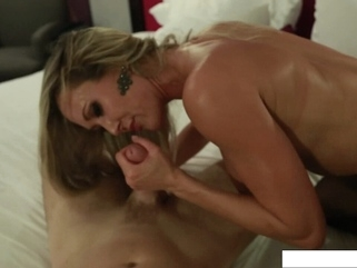Brandi Love and Levi Cash - TNGF big tits blowjob cosplay video