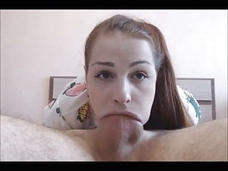 Teen Loves To Deepthroat Suck amateur blowjob cumshot video
