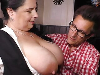 German style - Big moms fucks lucky client amateur blowjob bbw video